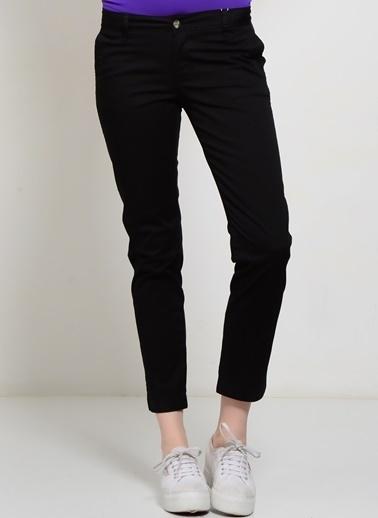 Limon Company LİMON COMPANY pamuklu kadın pantolon Siyah